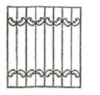 Эскизы решеток. Вариант №8