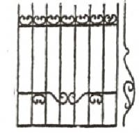 Эскизы решеток. Вариант №31