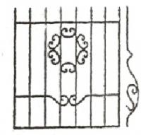 Эскизы решеток. Вариант №13