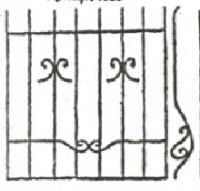 Эскизы решеток. Вариант №29
