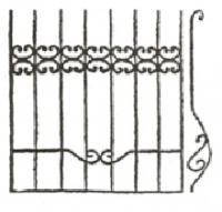 Эскизы решеток. Вариант №37