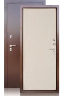 Сейф-дверь Берлога ТЕРМО дуб беленый