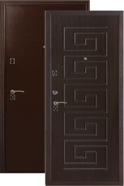 Сейф-двери ДС 181 венге
