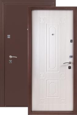 Сейф-двери ДС 531 Белёный дуб