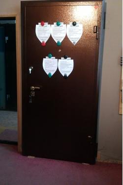 Сейф-дверь 2 мм ЭЛИТ №1