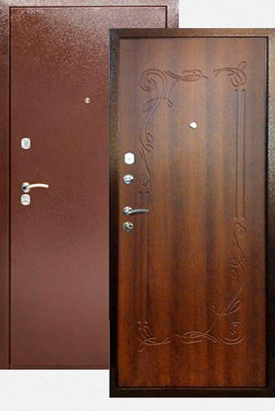 стальные двери в 3 листа