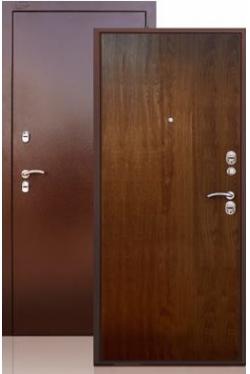 Сейф-дверь Берлога ТЕРМО дуб темный