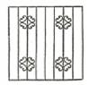 Эскизы решеток. Вариант №4