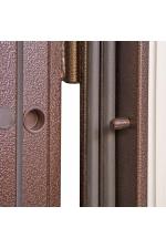 Сейф-двери Триплекс Экошпон беленый дуб