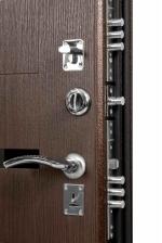 Сейф-двери Триплекс Экошпон орех рифленый