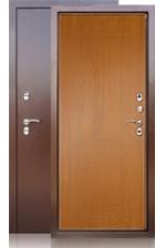 Сейф-дверь Берлога ТЕРМО дуб янтарный
