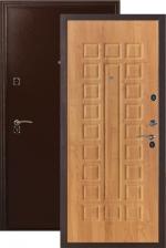 Сейф-двери ДС 181 миланский орех