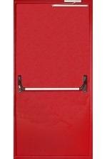 """Одностворчатая противопожарная дверь с ручкой """"Антипаника"""""""
