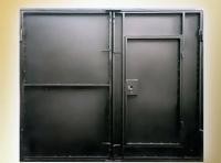 Гаражные ворота 2 мм