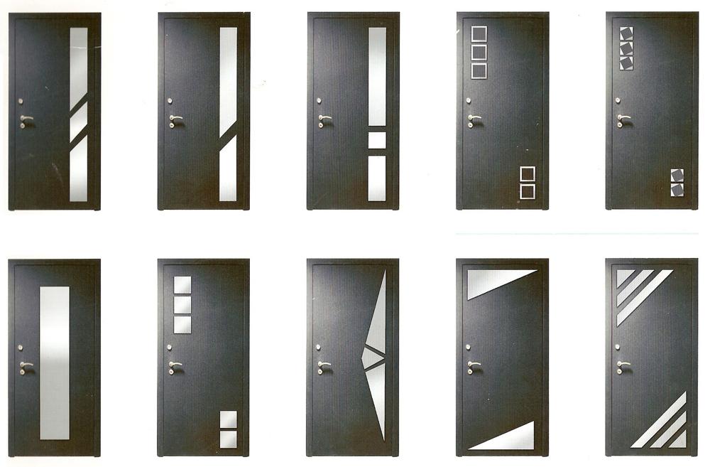 наружные металлические декоративные двери