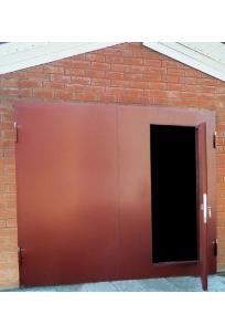 Изготовление металлических гаражных ворот
