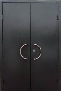 Двустворчатые металлические сейф-двери