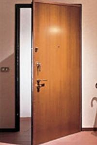 Сейф-двери внутреннего открывания