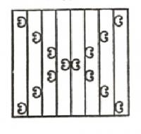 Эскизы решеток. Вариант №3