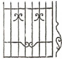 Эскизы решеток. Вариант №9