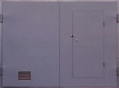 Гаражные ворота 3 мм